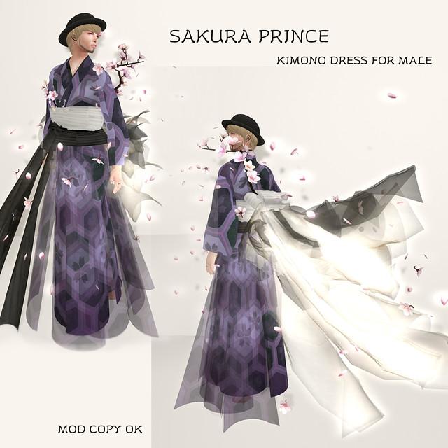 SAKURA PRINCE Purple