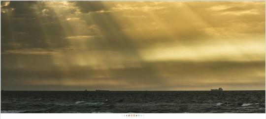 De uitgestrekte zee