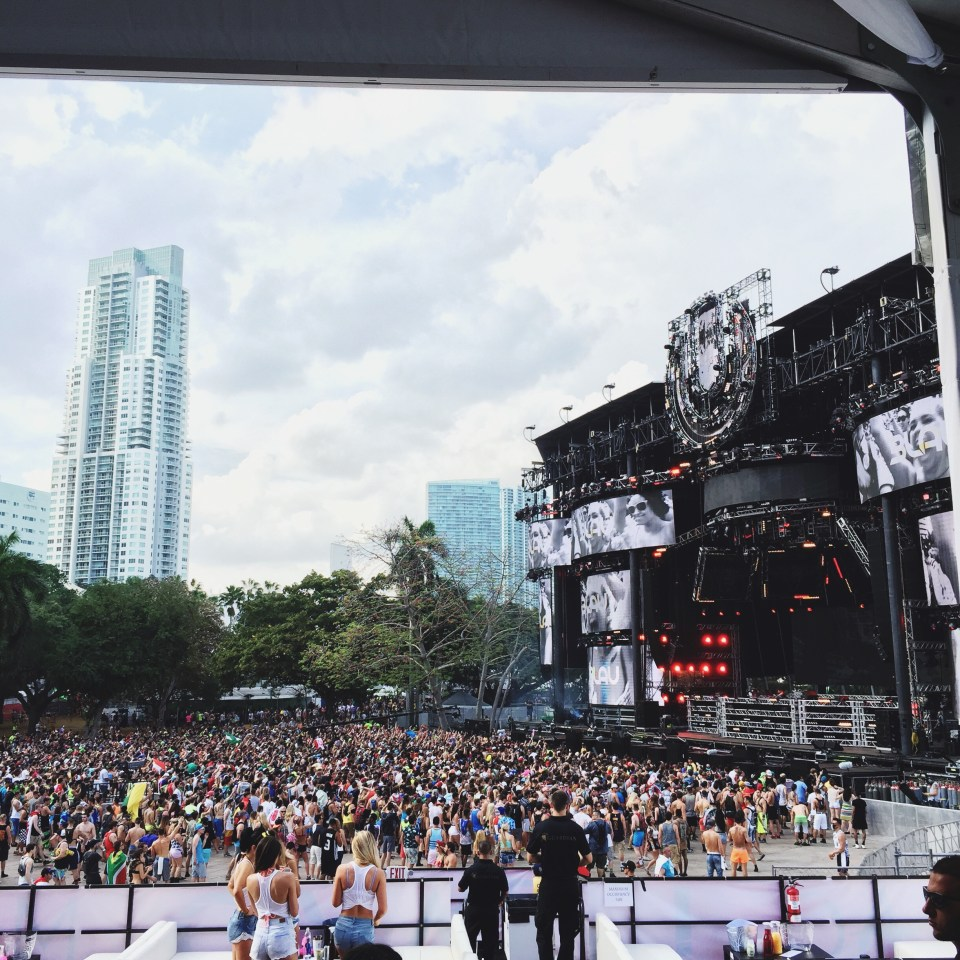 Ultra Music Festival Miami 2015 VIP area