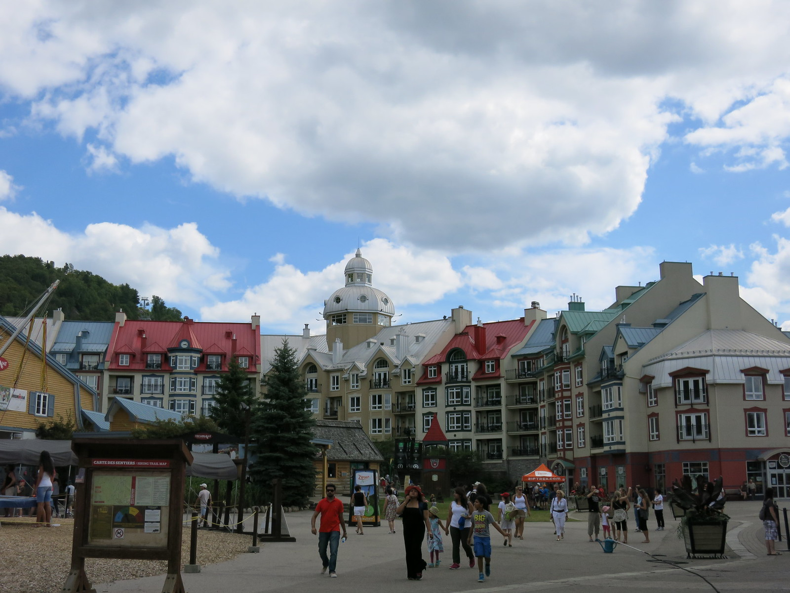 Mont-Tremblant Ski Resort hotels