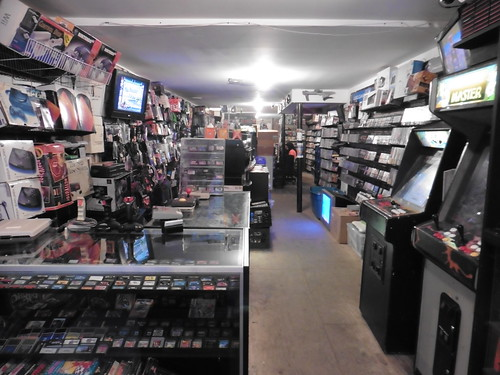 Tiendas y lugares frikis en Nueva York: 8 Bit and Up Videogames