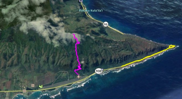 Kealia Trail Google Earth Map 2