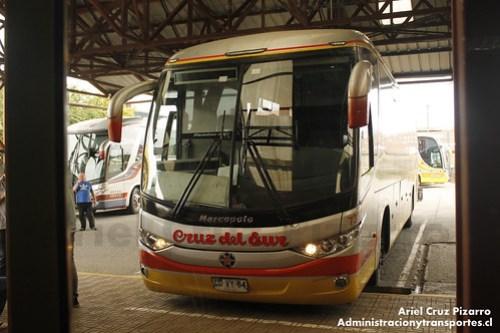 Cruz del Sur - Castro - Marcopolo Paradiso 1050 / Volvo (CDVY64)