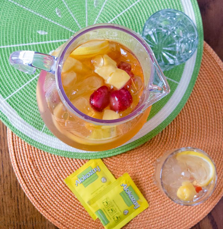 Summer Fruit Tea   www.infinebalance.com