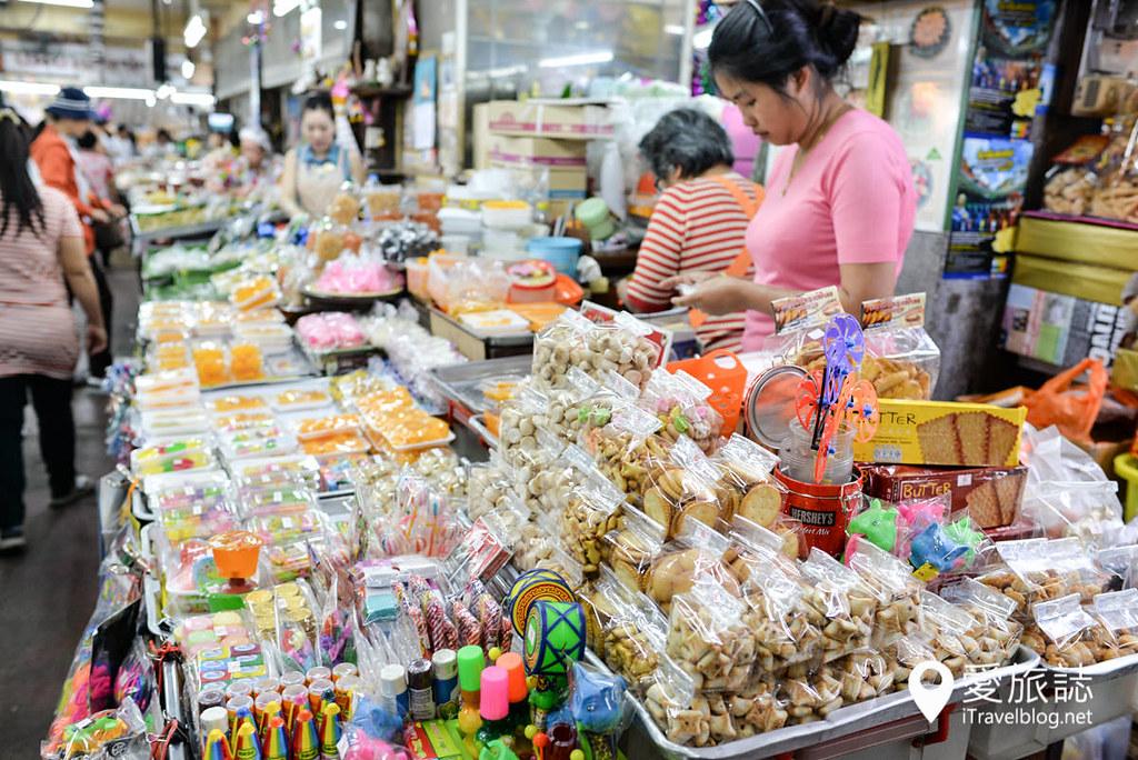 清迈市集 龙眼市场 Ton Lam Yai Market 12