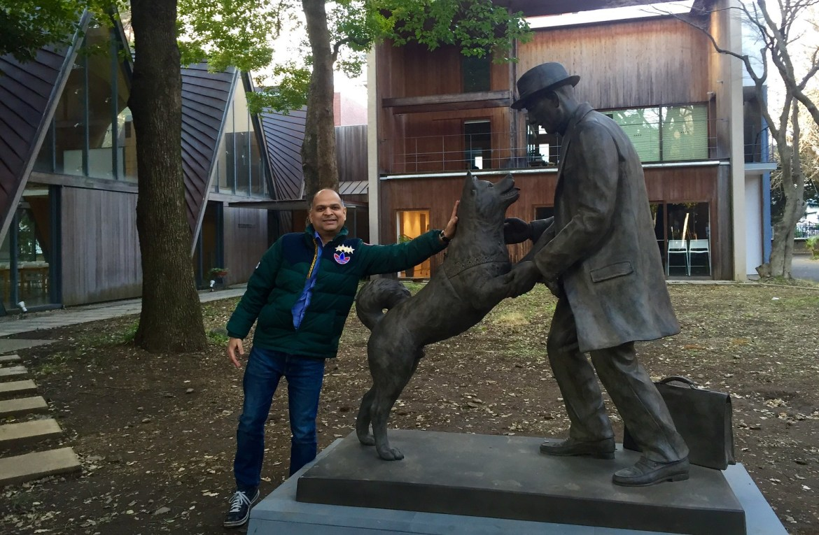 Hachiko reunites with professor after 90 years