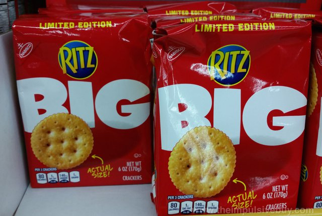 Nabisco Limited Edition Ritz Big
