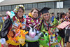 """Happy UH West Oahu graduates celebrate on the Great Lawn after the spring 2016 commencement ceremony on May 7, 2016. Photo by Brian Miyamoto  More photos:  <a href=""""https://www.flickr.com/photos/uhwestoahu/albums/72157665878073153"""">www.flickr.com/photos/uhwestoahu/albums/72157665878073153</a>"""