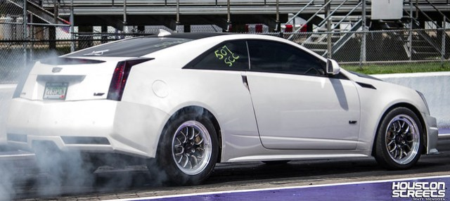 CTS Coupe burnout