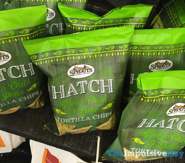 Sprouts Hatch Green Chile & Lime Tortilla Chips