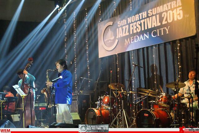 North Sumatra Jazz Festival 2015 - Phil Yoon Group (5)
