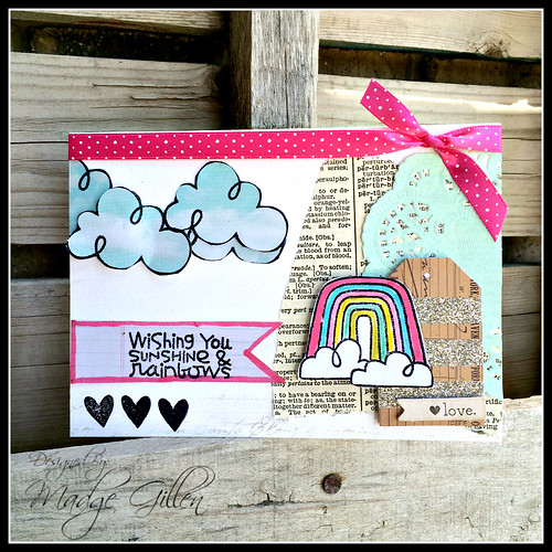 Rainbow Blog Hop Card 1