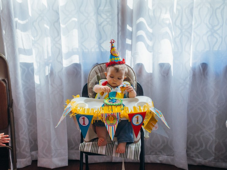 Ezra's First Birthday