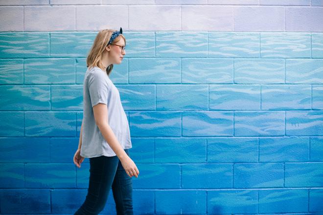 shades of blue | writes like a girl