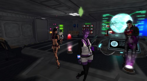 Remnants Of Earth Sci-Fi Roleplay In Second Life Attracts The