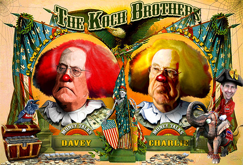Koch Brothers Campaign Circus Hires A New Pitchman - Scott Walker