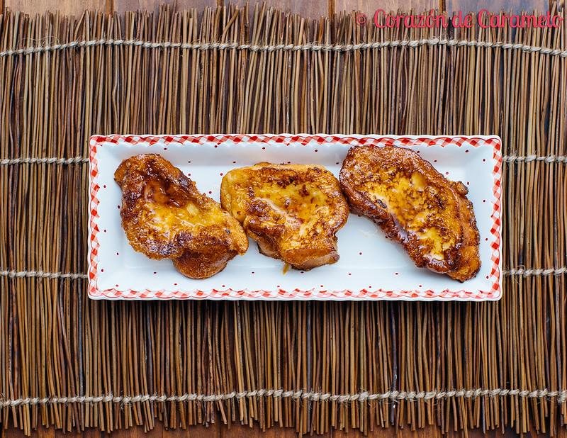 Torrijas de Naranja y Chocolate