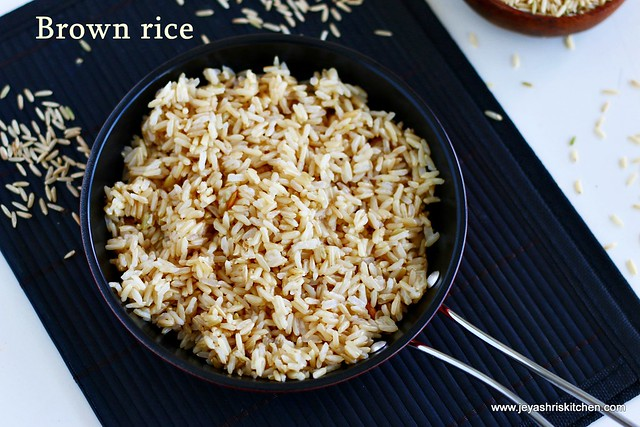How-to cook-brown rice