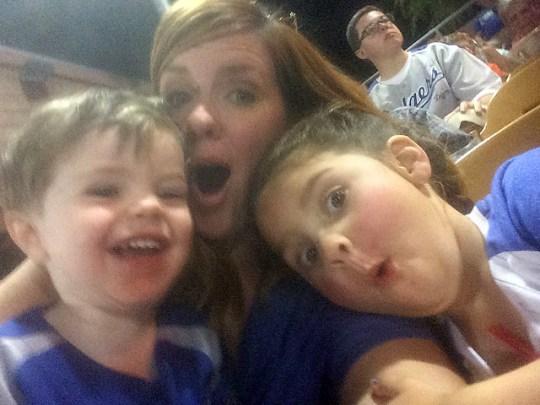 goofy Dodger fans