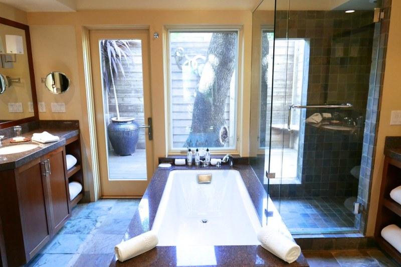 Bathroom at Calistoga Ranch