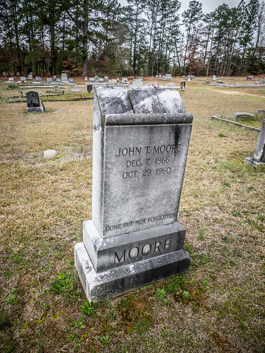 John T Moore