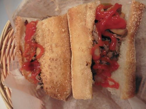 Dónde comer y gastronomía en Filadelfia (Estados Unidos) - Restaurante delicatessen Campo's Deli Philly Cheese Steak.