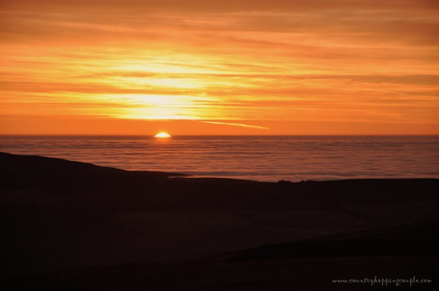 Snaefell Sunset Isle Of Man