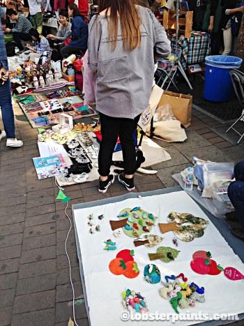 4 Oct 2014: Hongdae Free Market @ Hongdae Playground | Seoul, South Korea