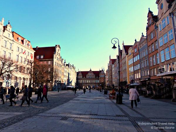 Gdansk's main street - Dlugi Targ