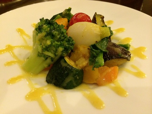 温野菜のハニーソースサラダ@ビーハウス