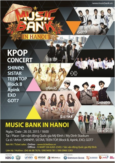 Music Bank in Hanoi sgXCLUSIVE