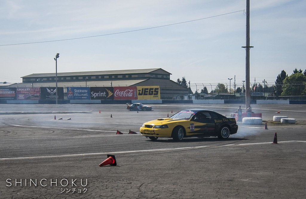 Evergreen Drift - Pro Am Round 1