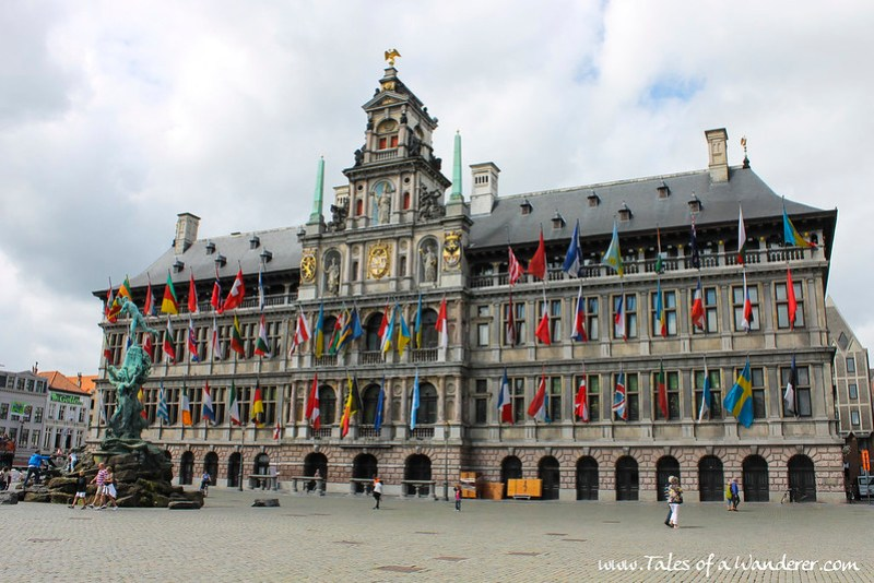 ANTWERPEN - Stadhuis van Antwerpen