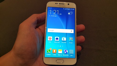 Galaxy S6 ด้านหน้า