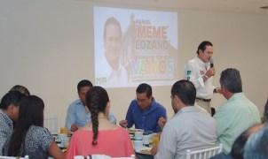 Promete Lozano convertir a San Luis en ciudad líder del centro del país