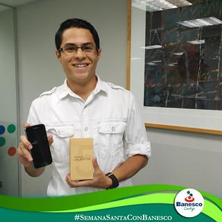 Ganador BANESCO  Jesús Rafael Núñez Samsung Galaxy S5