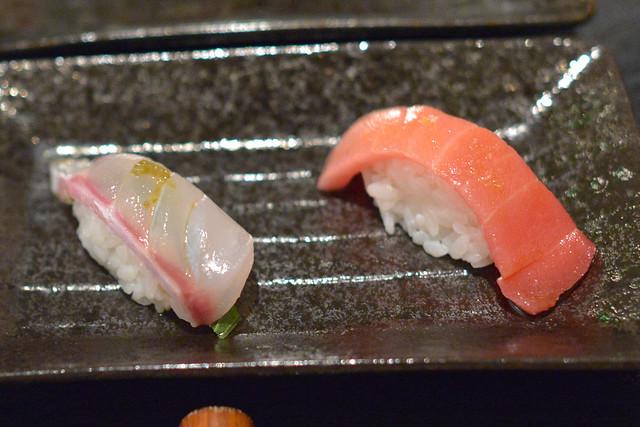 whitefish & fatty tuna