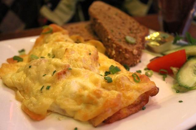 Tortilla de queso, en 'Pelgrim Bar'