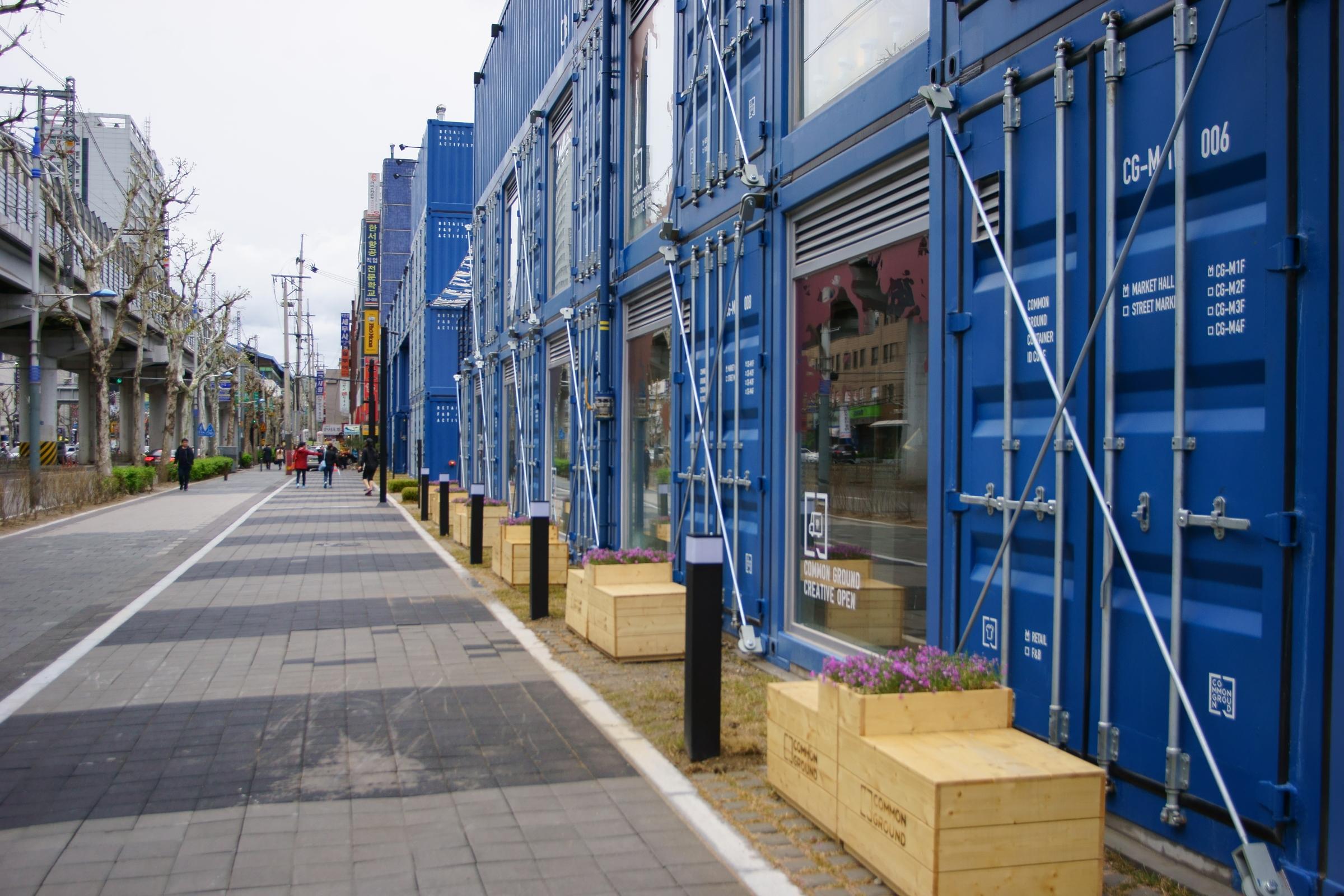 [首爾] 建大入口站・藍色貨櫃商圈 Common Ground 커먼그라운드   跟著小鼠去旅行 – U Blog 博客