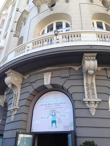 Mercadillo del gato, Westin Palace. Madrid