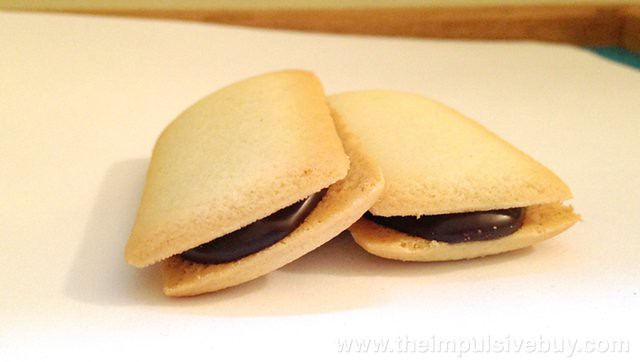 TJ's Crispy Cookies Filled with Belgian Chocolate A perfect duet