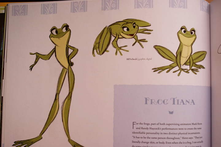 the art of princess and the frog taidekirja