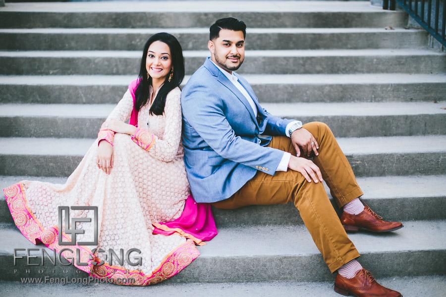 Atlanta Pakistani Engagement Photographer | Piedmont Park Indian Wedding Photography