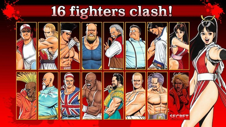 Fatal Fury Special Android lucha juegos
