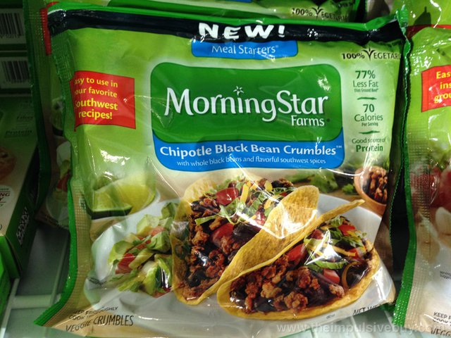 Morningstar Farms Chipotle Black Bean Crumbles