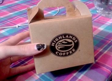 Highlands Coffee box