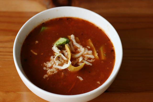 Aztec Soup (Spicy Tortilla Soup)