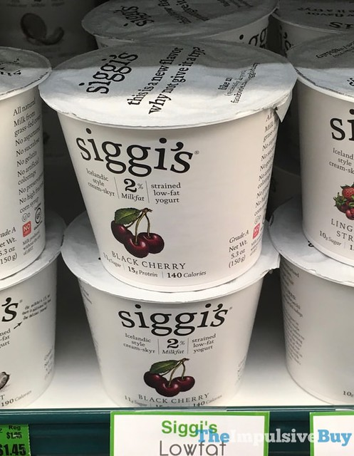 Siggi's Black Cherry Yogurt