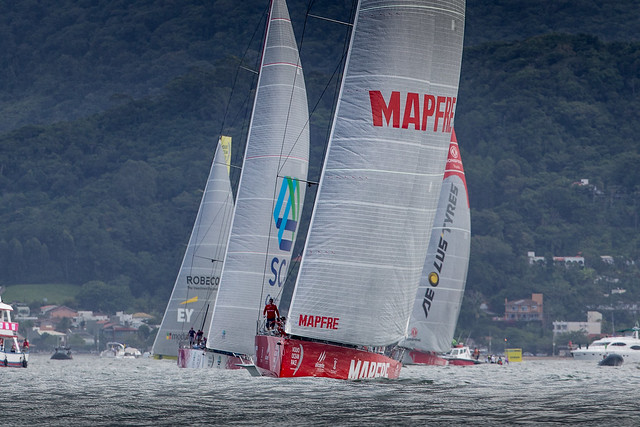 """MAPFRE"" HEADS TO THE UNITED STATES IN SECOND PLACE"