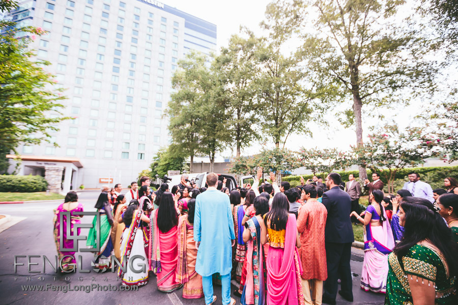 Atlanta Westin Perimeter Indian Wedding